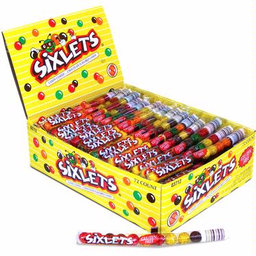 Sixlets 12-Ball Tubes - 72CT Box