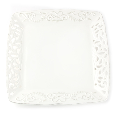 Baby Girl Ceramic Lace Gift Tray