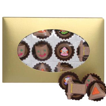 Mixed Purim Chocolate Miniatures - 12pk