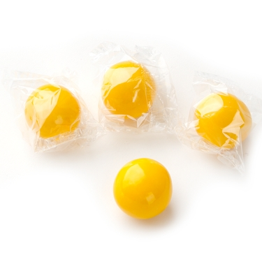 Wrapped Yellow Gumballs