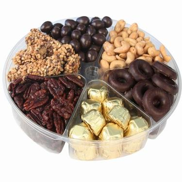 6-Section Chocolate & Nut Tray