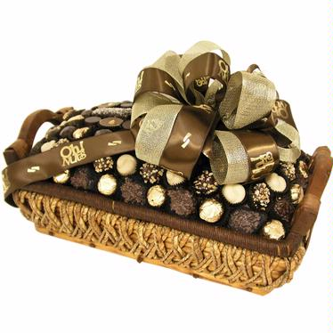 ael Chocolate Rectangle Gift Basket