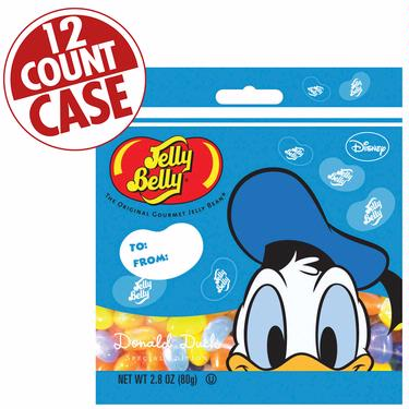 Jelly Belly Mickey Mouse Jelly Beans - 2.8 oz Bag -12CT Case