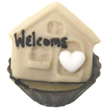 Chocolate House Miniature - Welcome