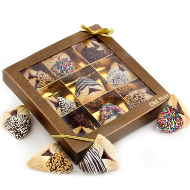 8-Pc. Chocolate Dipped Hamantash Gold Gift Box