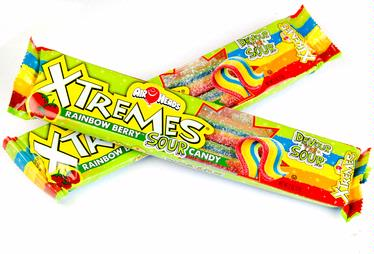 AirHeads Xtremes Sour Belts - 18CT Box