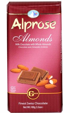 Alprose Almonds Milk Chocolate Bar