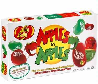 Jelly Belly Apples to Apples Card Game