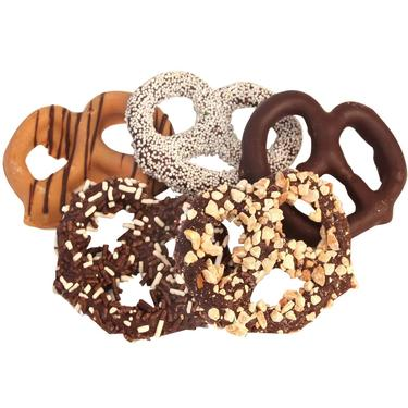 Assorted Chocolate Pretzels - 10CT