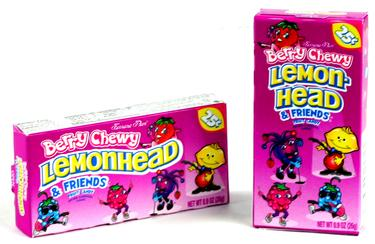 Berry Lemonhead & Friends Mini Candy Balls