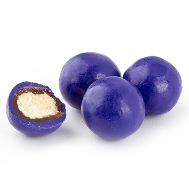 Blueberry Malted Milk Balls