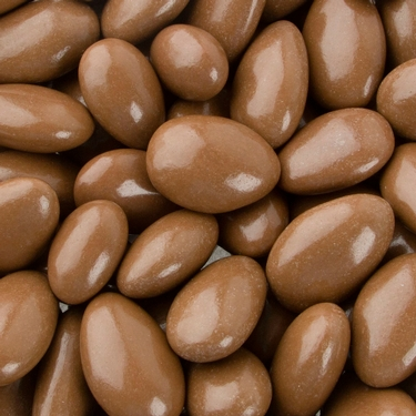 Brown Cocoa Jordan Almonds