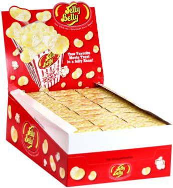 Buttered Popcorn Jelly Beans Box - 1.75 oz - 3-Pack