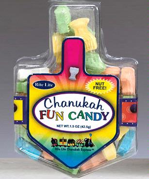 Chanukah Fun Candy Filled Dreidel