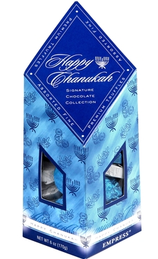 Happy Chanukah Signature Truffle Collection Box