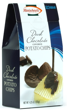 Dark Chocolate Covered Potato Chips
