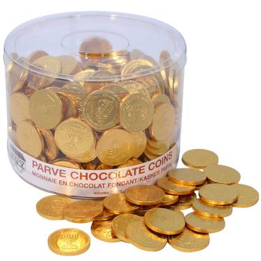 Nut-Free Chocolate Coin Tub - 360 Count