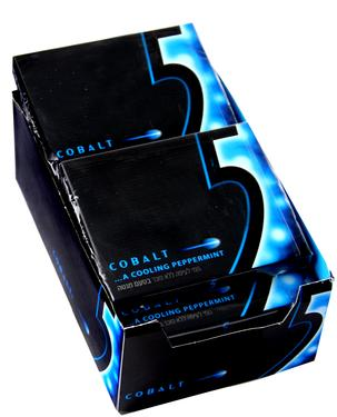 Cobalt 5® Cooling Peppermint Stick Gum Case