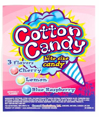 Cotton Candy Pressed Candy Bites