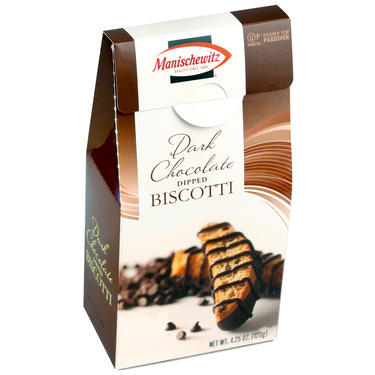 Dark Chocolate Dipped Biscotti