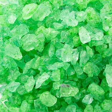 Dark Green Rock Candy Crystals