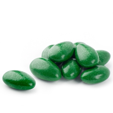 Dark Green Jordan Almonds