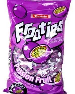 Purple Tootsie Roll Frooties Taffy Candy - Passion Fruit