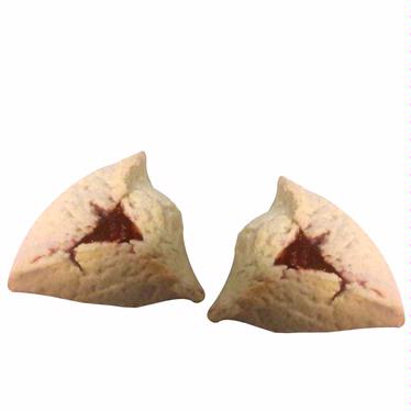 Passover Raspberry Hamantashen