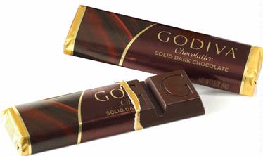 Godiva Solid Milk Chocolate Bar - 1-Piece