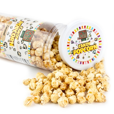 Brown Caramel Popcorn