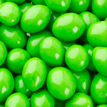 Green Chocolate Jordan Almonds