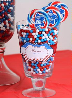 Old Glory Patriotic Swirl Whirly Pops - 6-Pack