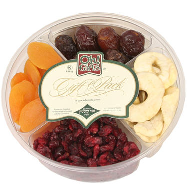 4-Section Dried Fruit Gift Tray
