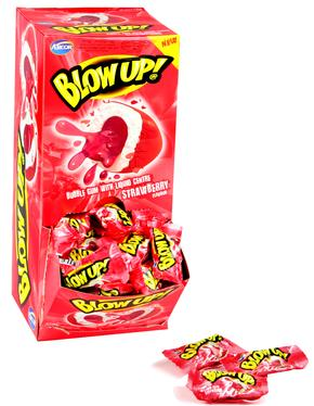 Strawberry Bubble Gum - 120CT Display