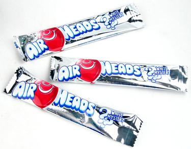 Mystery White AirHeads Taffy Candy Bars
