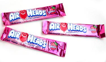 Strawberry AirHeads Taffy Candy Bars