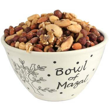 Bowl of Mazal Nut Gift