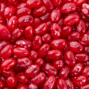 JB Red Jelly Beans - Pomegranate