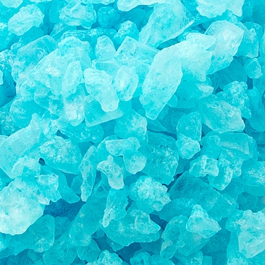 Light Blue Rock Candy Crystals