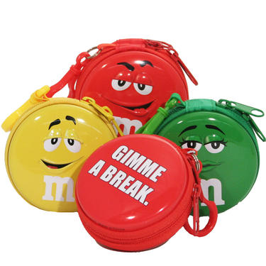 M&M's Zipper Tins - 1 Pc.