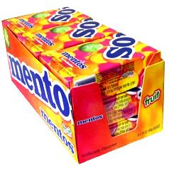 Assorted Fruit Mentos Box - 9CT Case