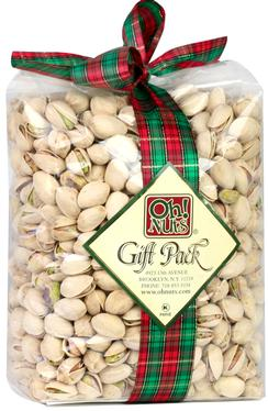 Holiday Pistachio Gift Bag