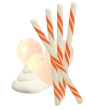 Orange 'n Cream Candy Sticks
