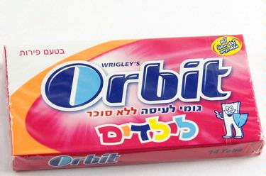 Orbit Kids Gum Sticks - 12CT