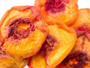 Dried California Peaches
