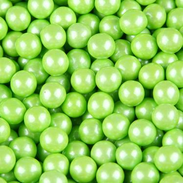 Lime Green Pearl Sixlets