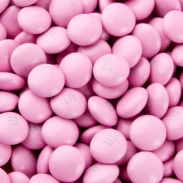 Pink M&M's Chocolate Candies