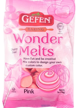 Non-Dairy Pink Melting Chocolate Wafers