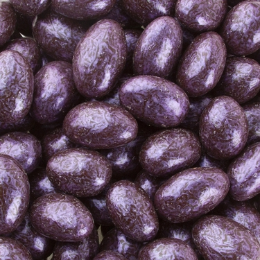 Purple Dark Chocolate Almond Jewels