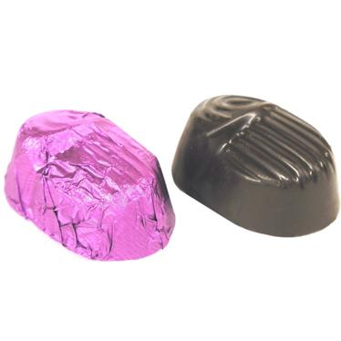 Passover Purple Foiled Amaretto Truffles